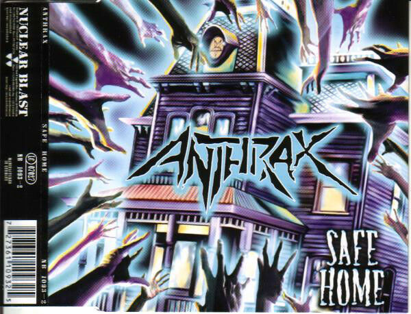 ANTHRAX - Safe Home - EP / CD Single - Neu