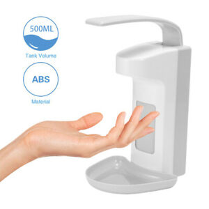 500ml Desinfektionsmittelspender Hygiene Seifenspenders Wandspender Eurospender