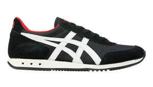 Onitsuka-Tiger-NEW-YORK-Baskets-Noir-Blanc-Asics-Cuir-1183A205-001-Mexique