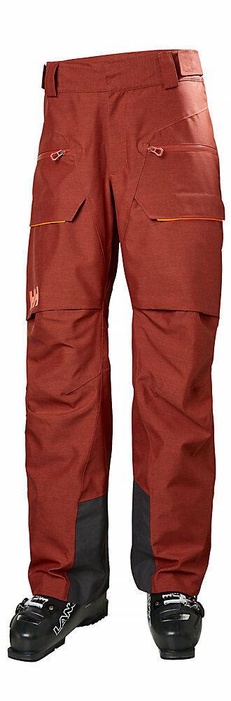 Helly Hansen Garibaldi Ski Pant 65617-199 Brick rot Mens Größe 2XL