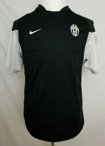 714ee5eac1d Nike Fit Juventus FC Practice Jersey Shirt Mens M Black White Soccer ...