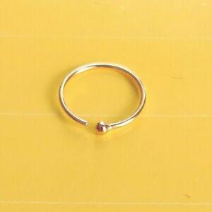 Orecchino-labbro-anello-al-naso-in-puro-585-oro-mare-intimo-Body-Piercing-Helix-Tragus-10-mm