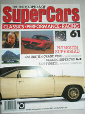 Encyclopedia of Super Cars 61 Plymouth Superbird, Ken Tyrell, 1965 British GP