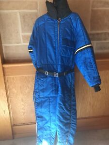 4d81076e7 Image is loading JCPenney-Mens-Vintage-Snowmobile-Apparel-Puffy-One-Piece-