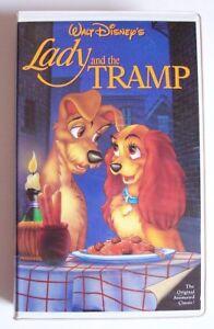 Walt Disney S Black Diamond Classic Lady And The Tramp Vhs Rare 582 Ebay