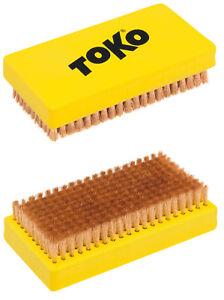 TOKO-Base-Brush-Rame-spazzola-allround-PER-ausbursten-von-cera-NUOVO