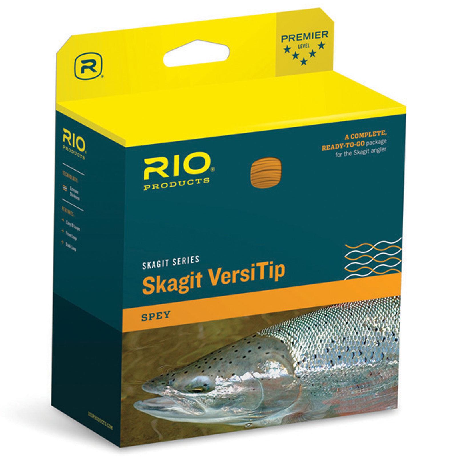 RIO NEW SKAGIT MAX SHORT VERSITIP 475GR SPEY ROD SHOOTING FLY LINE, HEAD, TIPS