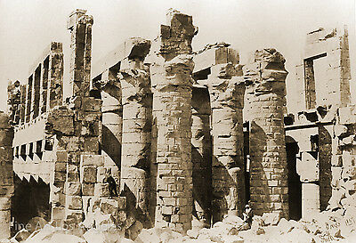 Francis Frith Photo, Hall of Columns, Karnac, Egypt 1857