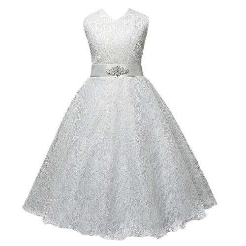 Baby Flower Girl Birthday Wedding Bridesmaid Pageant Graduation Formal Dress