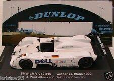 BMW LMR V12 WINNER 24 HEURES DU MANS 1999 IXO 1/43EME DALMAS LM1999 HOURS