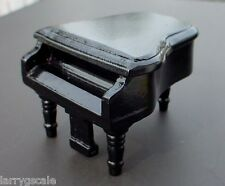 Grand Piano Miniature 1/24 Scale G Scale Diorama Accessory Item