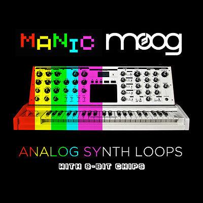 Manic Moog Analog Synth Loops EDM Complextro Chiptune (24-Bit WAV) Logic  Ableton | eBay