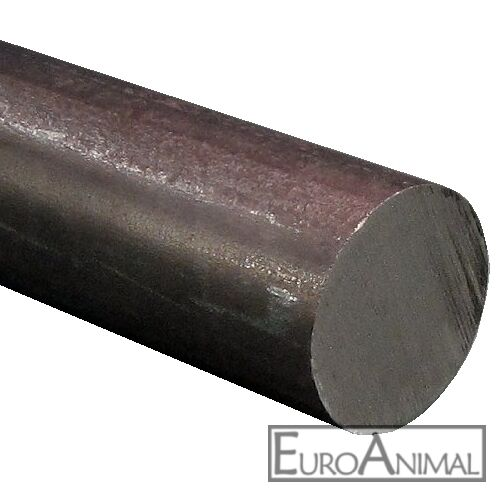 Rundstahl 50 mm  Länge 500mm bis 3x2000mm Rund Eisen Rundmaterial Stahl St37