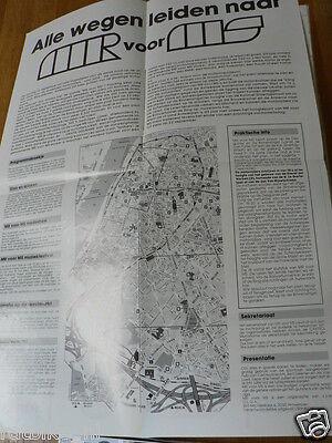 130-poster 1991 Antwerpen Motorrijders Voor Multiplesclerose Zondag 22 September