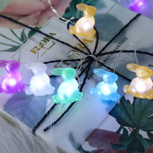 Rabbit Shaped LED String Light Courtyard Lamp Cartoon