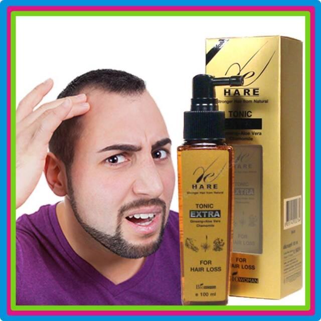 GINSENG ANTI HAIR LOSS FOR MEN NATURAL DHT BLOCKER HAIR THINNING RE-GROWTH SERUM