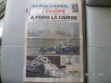 L'EQUIPE DU 14-15/06/1997 24 HEURES DU MANS QUINZE DE FRANCE  J60