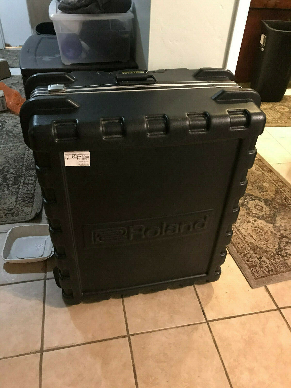 Roland V-Drum Hardshell Carrying Travel Case