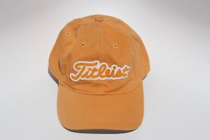 Details about Titleist Golf Hat Yellow Forged New