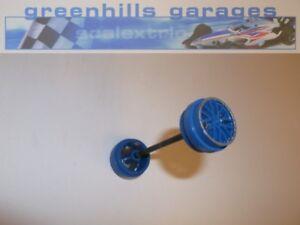 Industrieux Fermeture Scalextric Ford Gt-r No.54 Black Swan C3136 Essieu Avant Et Roues -...-afficher Le Titre D'origine