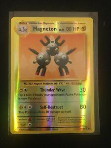 Magneton HOLO RARE 38//108 Pokemon XY Evolutions Anniversary Holographic Foil LP