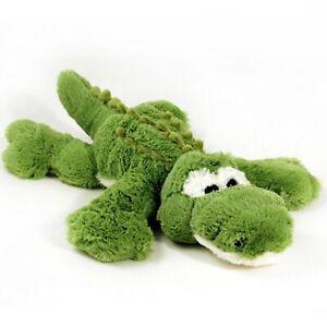 DINKI-DI-CUDDLES-GREEN-CROCODILE-SOFT-ANIMAL-PLUSH-TOY-42cm-NEW