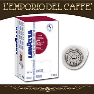 Caffe-Lavazza-Miscela-Gran-Espresso-300-cialde-carta-Ese-44-Tostatura-Media