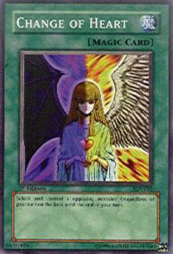 Common Change of Heart HP Unlimited Edition  YuGiOh SDP-030 1x