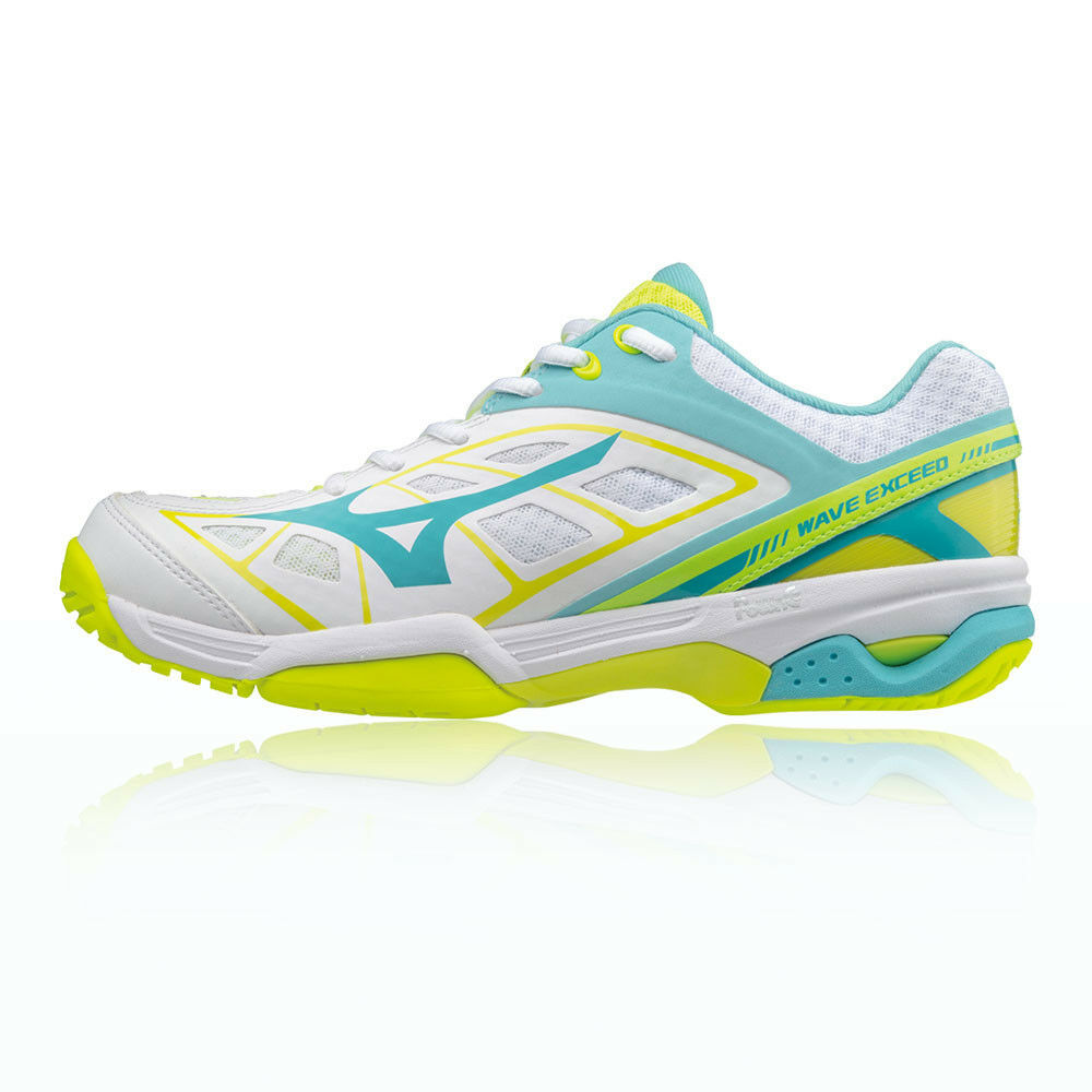 Mizuno Mujer blancooo Wave Exceed All Corte Tenis Zapatos Zapatillas Zapatillas Zapatillas Deporte 299d6d