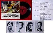 EP Karussell der Liebe (Hör Zu) Pat Boone Caterina Valente Paul Anka Neil Sedaka