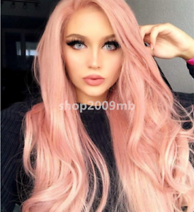 Brazilian Lace Front Wig Rose Gold Wigs