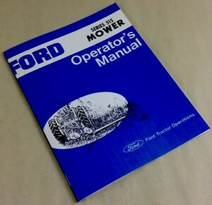 ford series 515 mower operators owners manual bar sickle hay grass cutter ebay owner's manual sears lawn tractors service manual sears lawn tractor