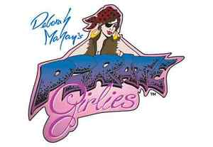 Iwata-Medea Freehand Pirate Girlies Airbrush Paint Stencil Set of 5 by Deb Mahan