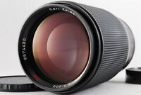 TOP Mint Contax Carl Zeiss  Tele Tessar T* 200mm F3.5 AEG Lens For CY mount#N235