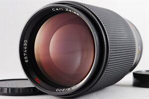 TOP-Mint-Contax-Carl-Zeiss-Tele-Tessar-T-200mm-F3-5-AEG-Lens-For-CY-mount-N235