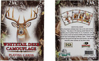 WHITETAIL DEER CAMOUFLAGE PLAYING CARD DECK NEW