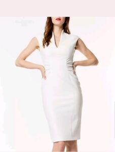 Plunge Dress Neckline Karen 16 Millen UK Taglia fxHg5w