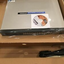 Cisco Small Business Managed (SRW2024) 24-Ports Rack-Mountable Switch Managed
