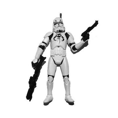 "Star Wars Legacy Republic Elite Forces Clone Trooper 3.75"" Loose Action Figure"