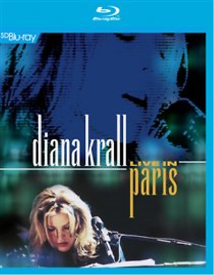 Diana Krall: Live in Paris  (UK IMPORT)  Blu-ray NEW