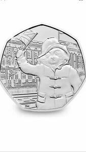 Paddington-Bear-At-The-Palace-50p-Coin-Uncirculated-Straight-Out-Of-Minted-Bag