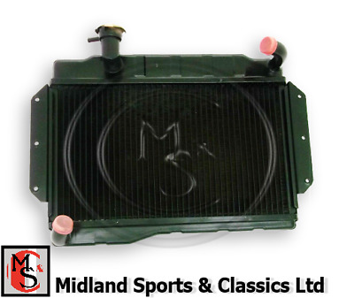 1967-1976 MGB /& MGB GT RADIATOR BRAND NEW NRP1142 BRASS TANK COPPER CORE