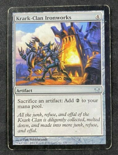 MTG Magic The Gathering Krark Clan Ironworks Fifth Dawn 5D HP