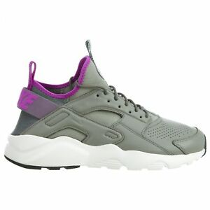 outlet store fbd4d 79b1a Details about Nike Air Huarache Run Ultra SE Running Shoes Size 9 - 13 Grey  Purple 875841 003