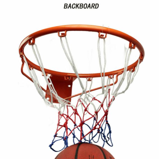 Basketball Hoop Adult Size Backboard Net For Indoor//Outdoor Wall Mounted Sports