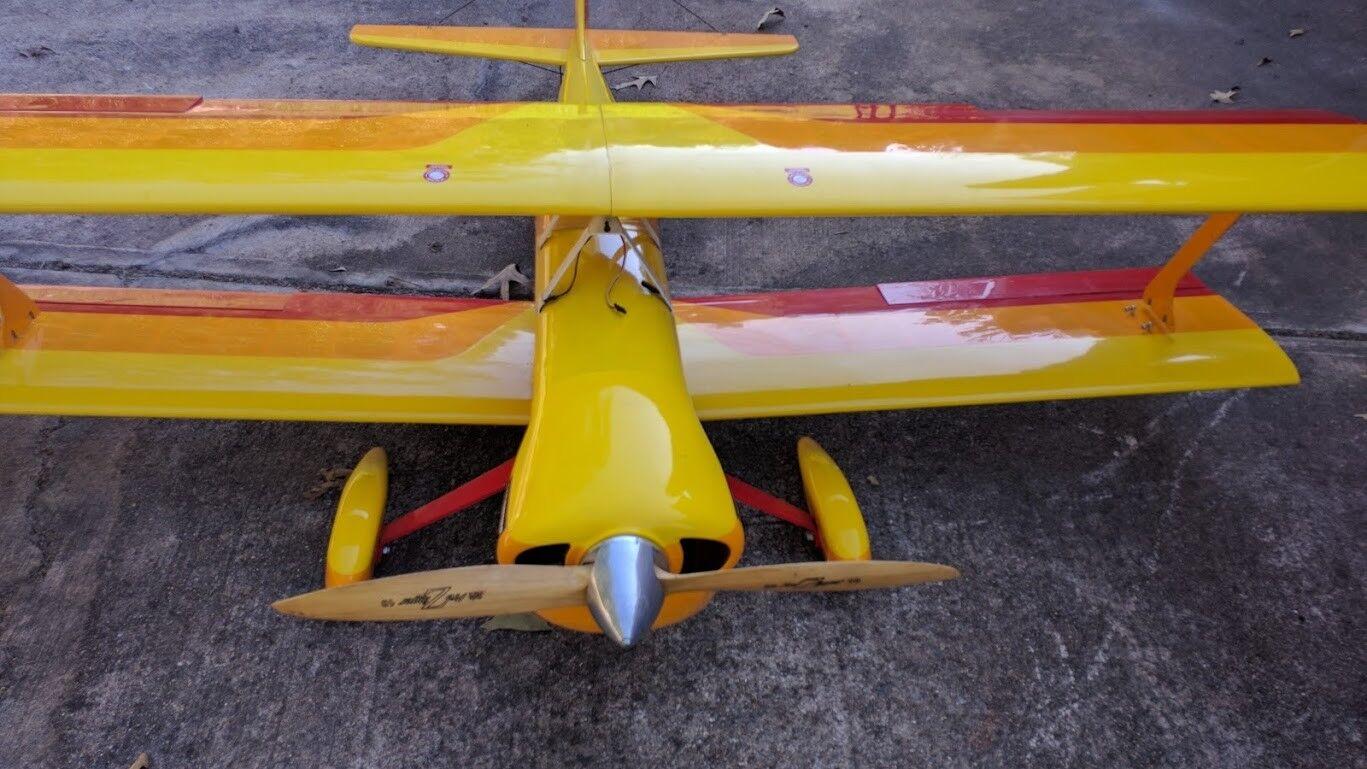 Sig Sundancer Biplane 1 3 scale