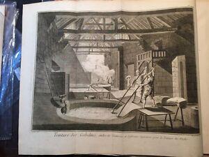 Enciclopedie-Diderot-1752-1770-Teinture-des-gobelins-Tintura-seta-19-tavole