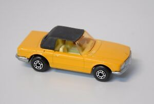 Image Is Loading Vintage 1973 Matchbox Lesney Superfast No 6 Yellow
