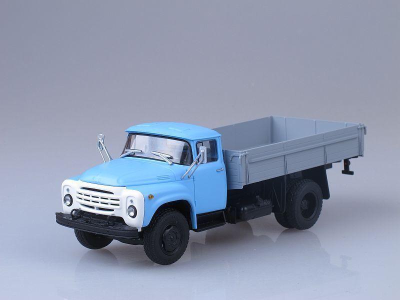 ZIL-130 integrado tarde versión soviética Retro Retro Retro camión de carga 1 43 Escala. Autohistory 40926e