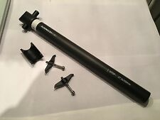 New Ultimate Evo 27,2/350mm lightweight carbon seatpost with zero setback - matt